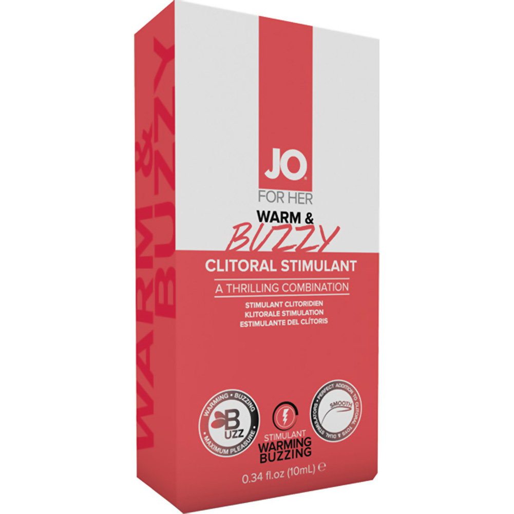 System Jo Warm and Buzzy Clitoral Stimulant Cream for Her 10 mL - View #1