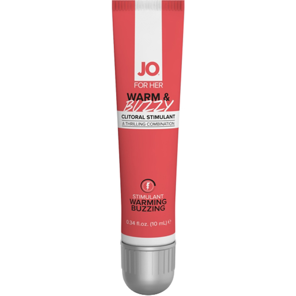 System Jo Warm and Buzzy Clitoral Stimulant Cream for Her 10 mL - View #2