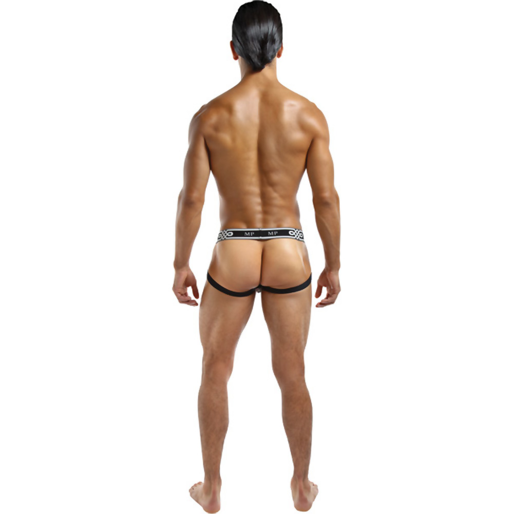 Male Power See Through Ring Jock Small/Medium White - View #2