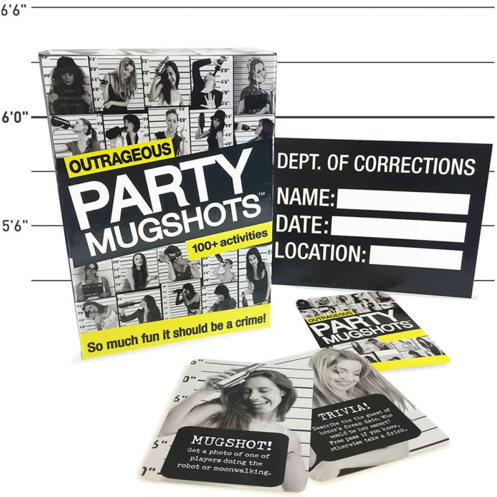 Little Genie Outrageous Party Mugshots Party Game - View #1
