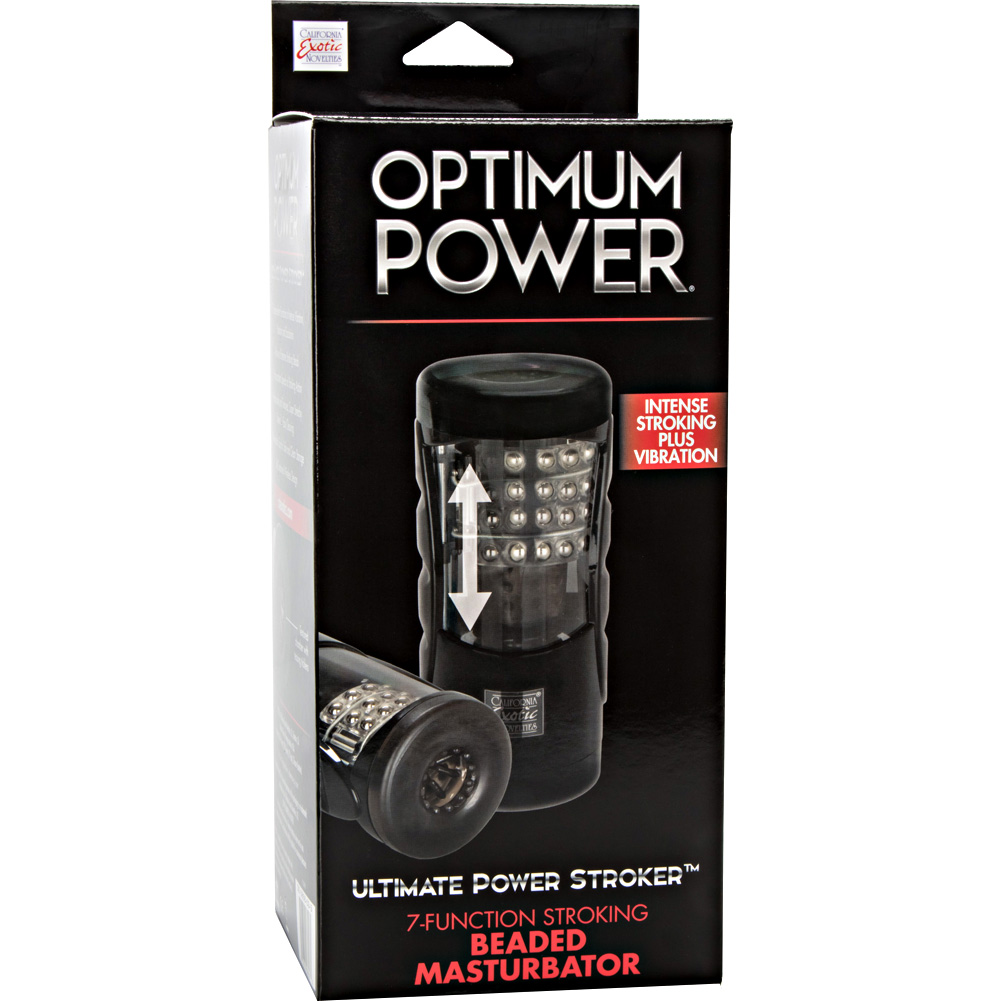 California Exotics Optimum Power Ultimate Stroker Black - View #4