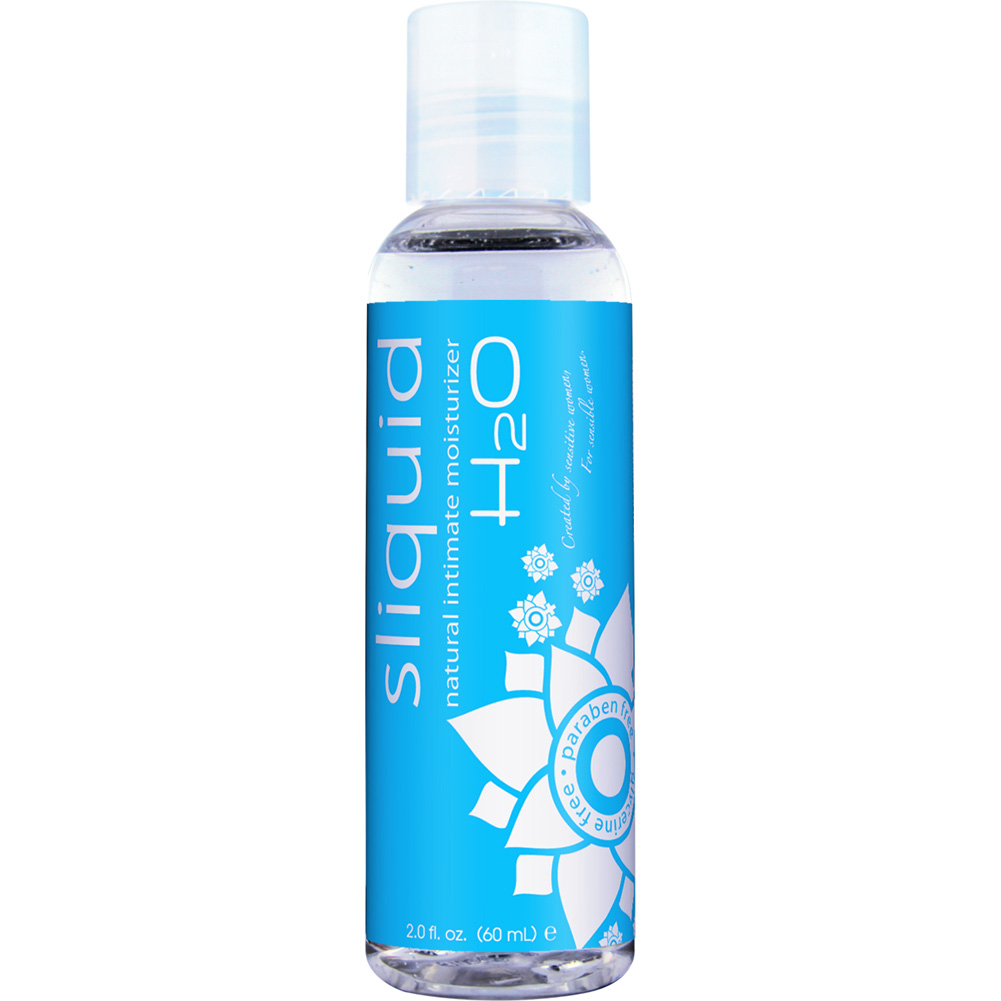 Sliquid H2O Naturals Water Based Intimate Lubricant 2 Fl.Oz 60 mL - View #1