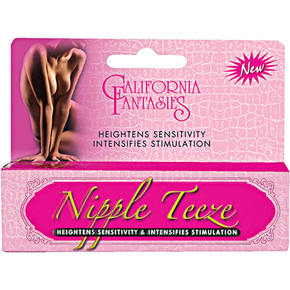 California Fantasies Nipple Teeze Intesifying Sensitivity Gel 0.5 Oz 15 G - View #1