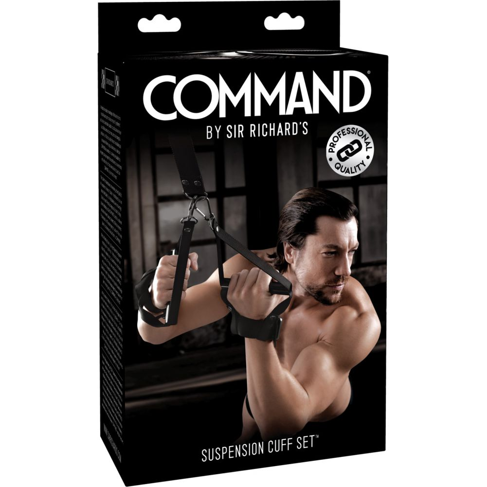 COMMAND by Sir Richards Suspension Cuff Set Black - View #4