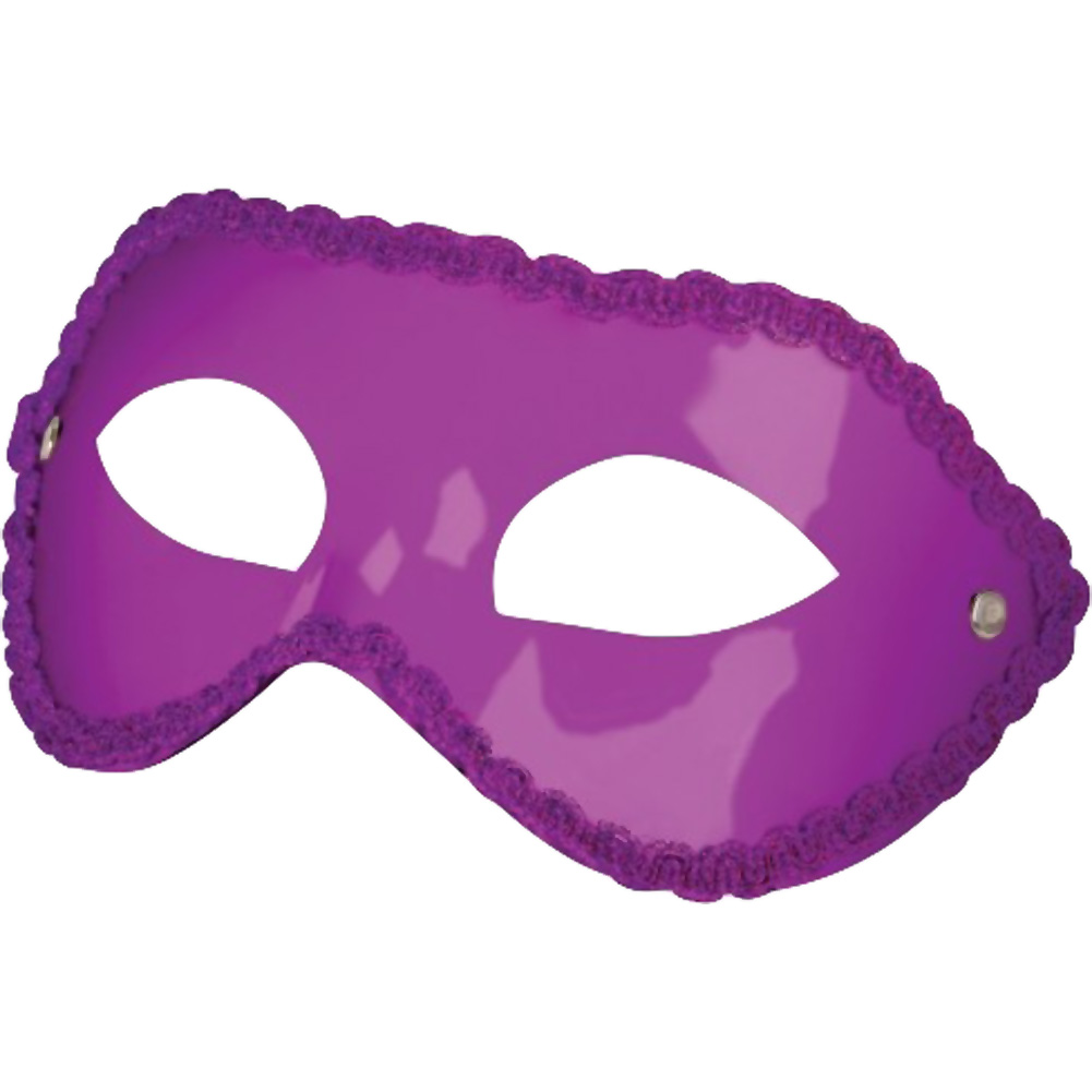 Shots Ouch Unisex Eye Mask for Parties One Size Purple - View #2