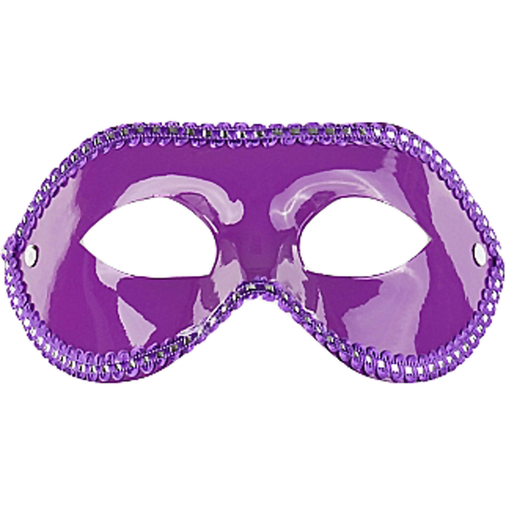 Shots Ouch Unisex Eye Mask for Parties One Size Purple - View #3