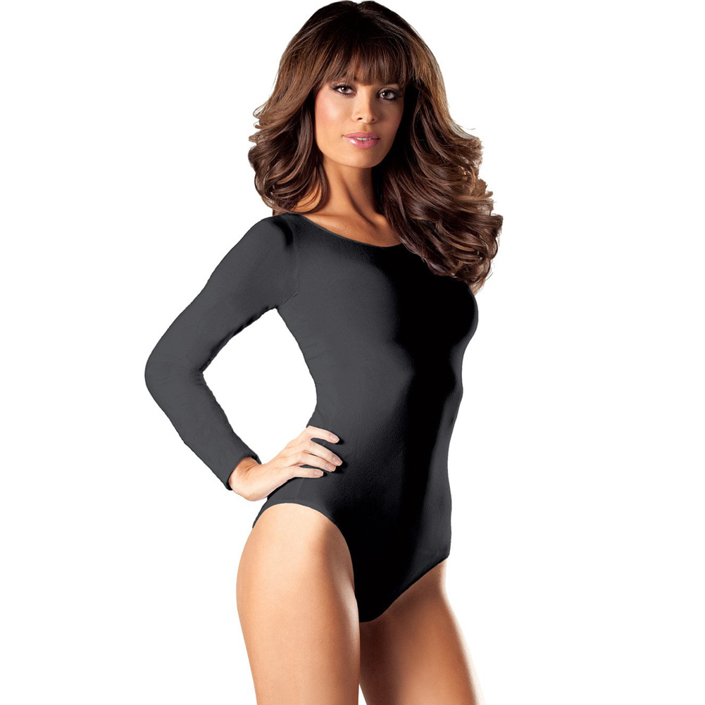 ecf2630900 Be Wicked Bw634 Opaque Long Sleeve Body Suit for sale online | eBay