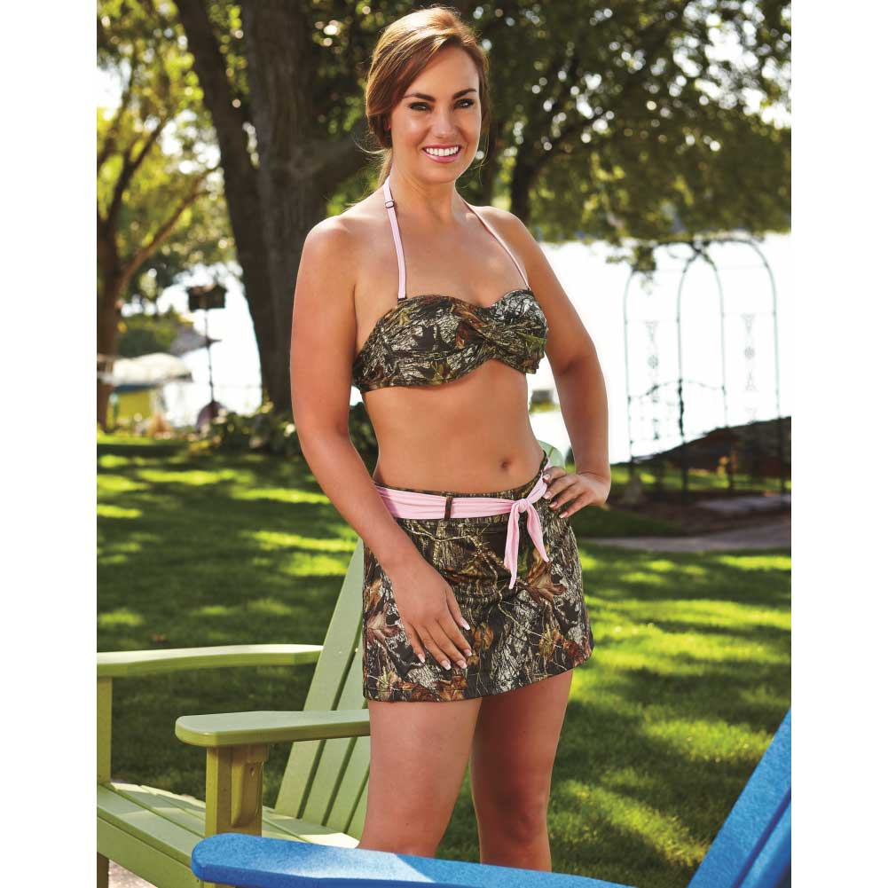 Mossy Oak Break-Up Twisted Bandeau Medium - View #1
