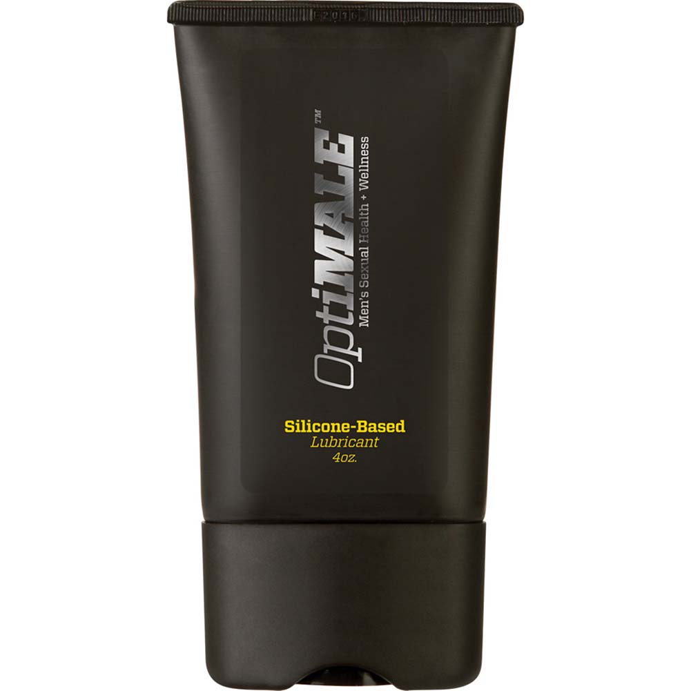 OptiMALE Silicone-Based Personal Lubricant for Men 4 Fl.Oz 120 mL - View #1