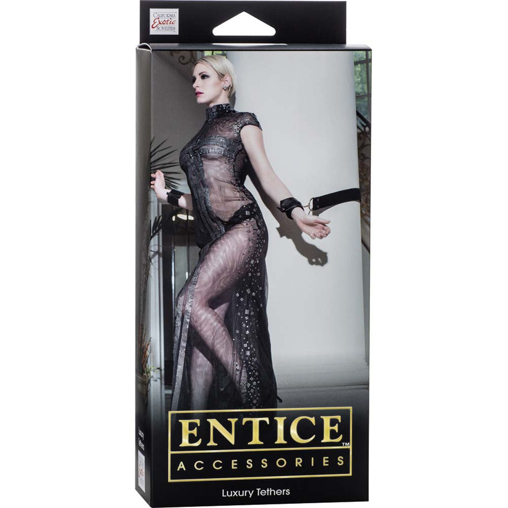 California Exotics Entice Accessories Luxury Tethers Black - View #1