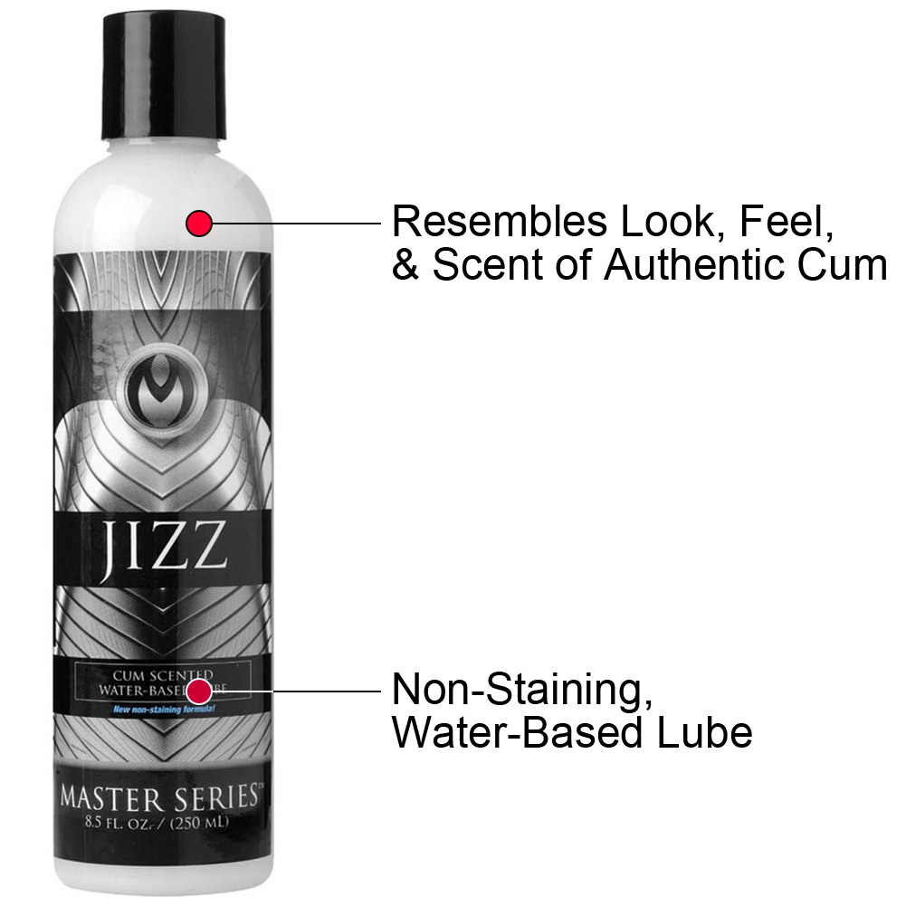 Master Series Jizz Cum Scented Water Based Personal Lubricant 8.5 Fl.Oz 250 mL - View #1