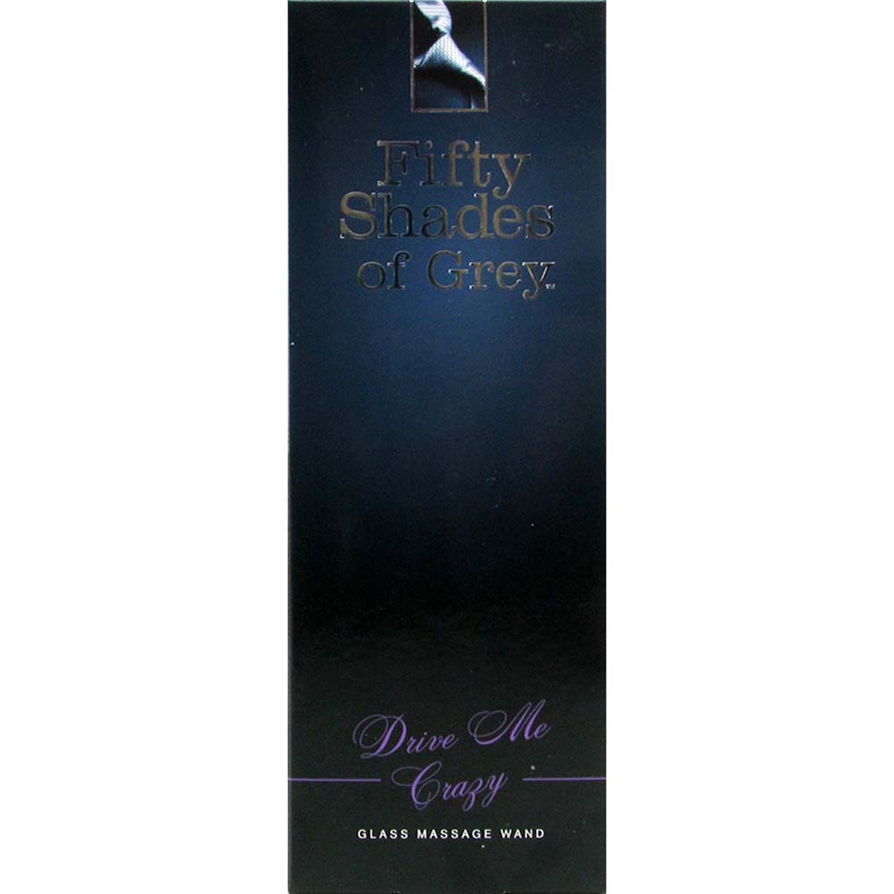 """Fifty Shades of Grey Drive Me Crazy Glass Wand 7.25"""" - View #4"""