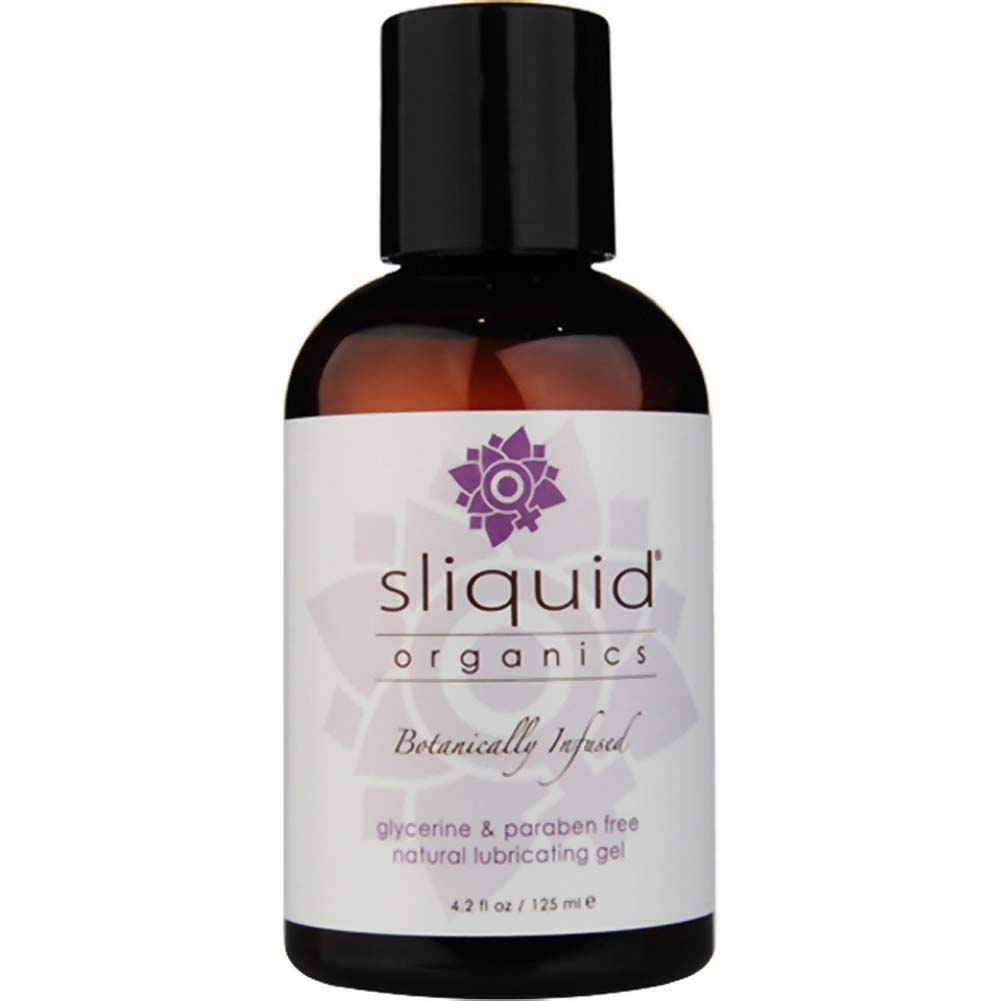 Sliquid Organics Natural Water Based Lubricating Gel 4.2 Fl. Oz. - View #1