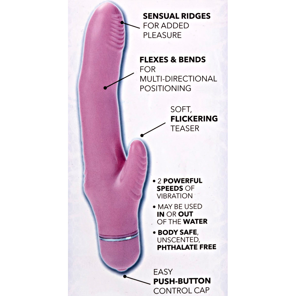 "CalExotics First Time Flexi Rocker Personal Vibrator 5"" Pink - View #1"