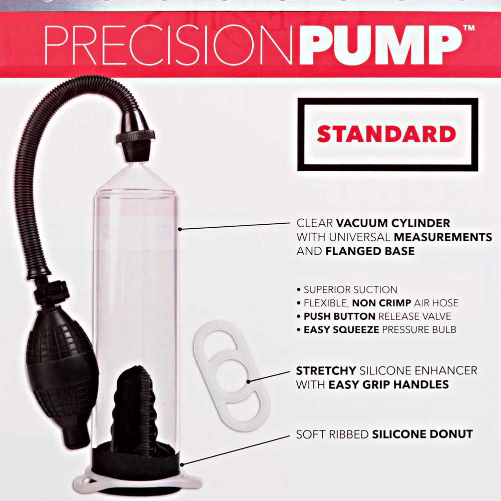 """Precision Pump Standard Edition 8"""" by 2.25"""" Clear - View #1"""