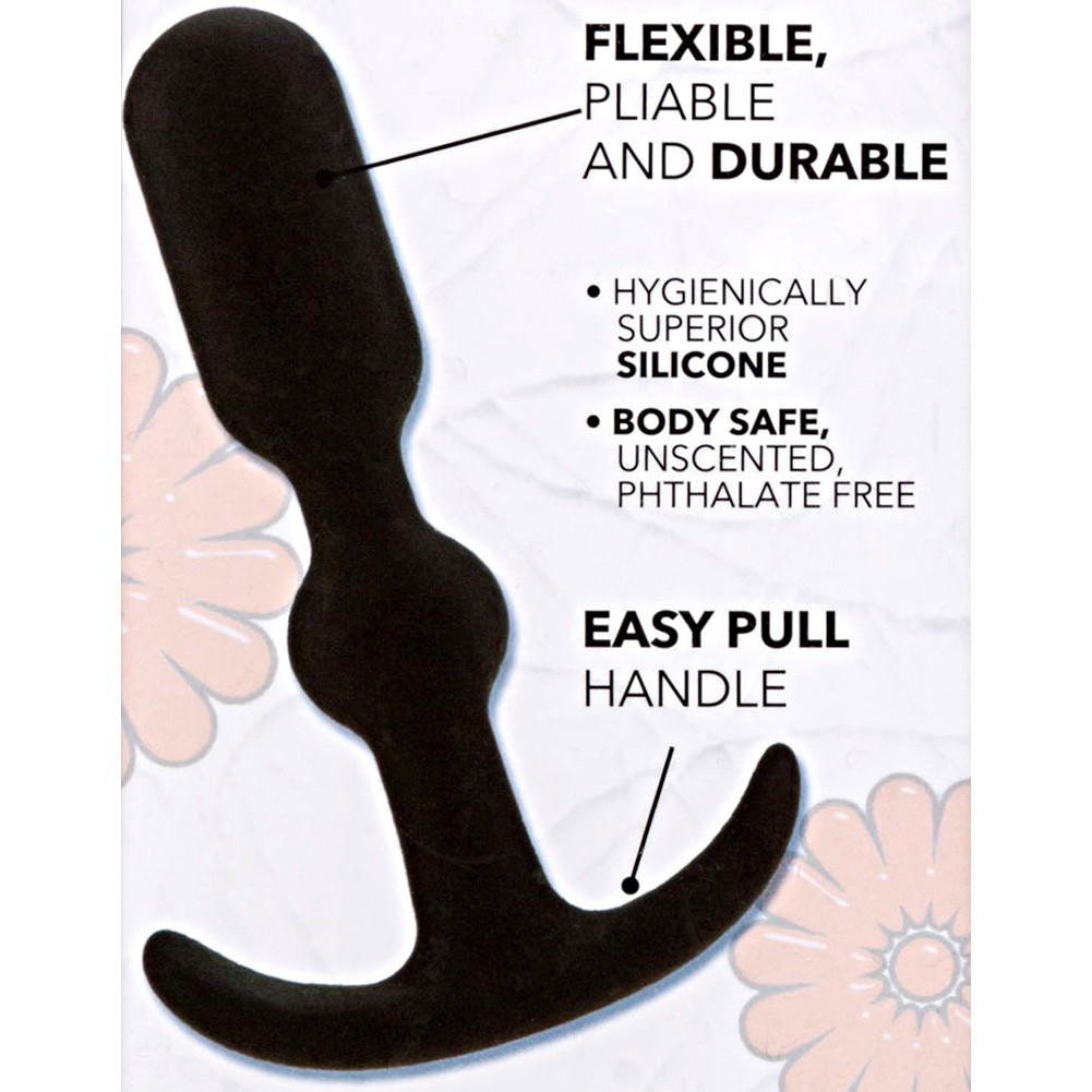 """CalExotics Booty Call Booty Teaser Anal Probe 4"""" Black - View #1"""