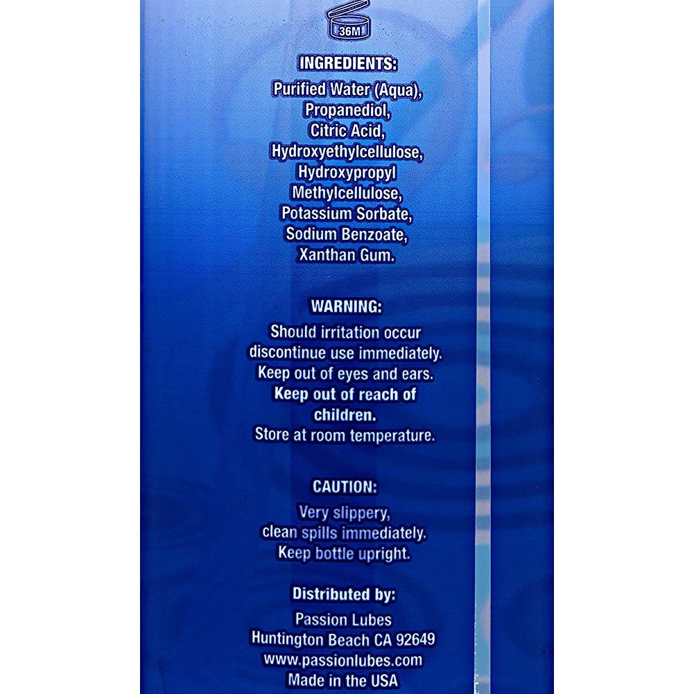 Passion Natural Water-Based Personal Lubricant 16 Fl.Oz 473 mL - View #4