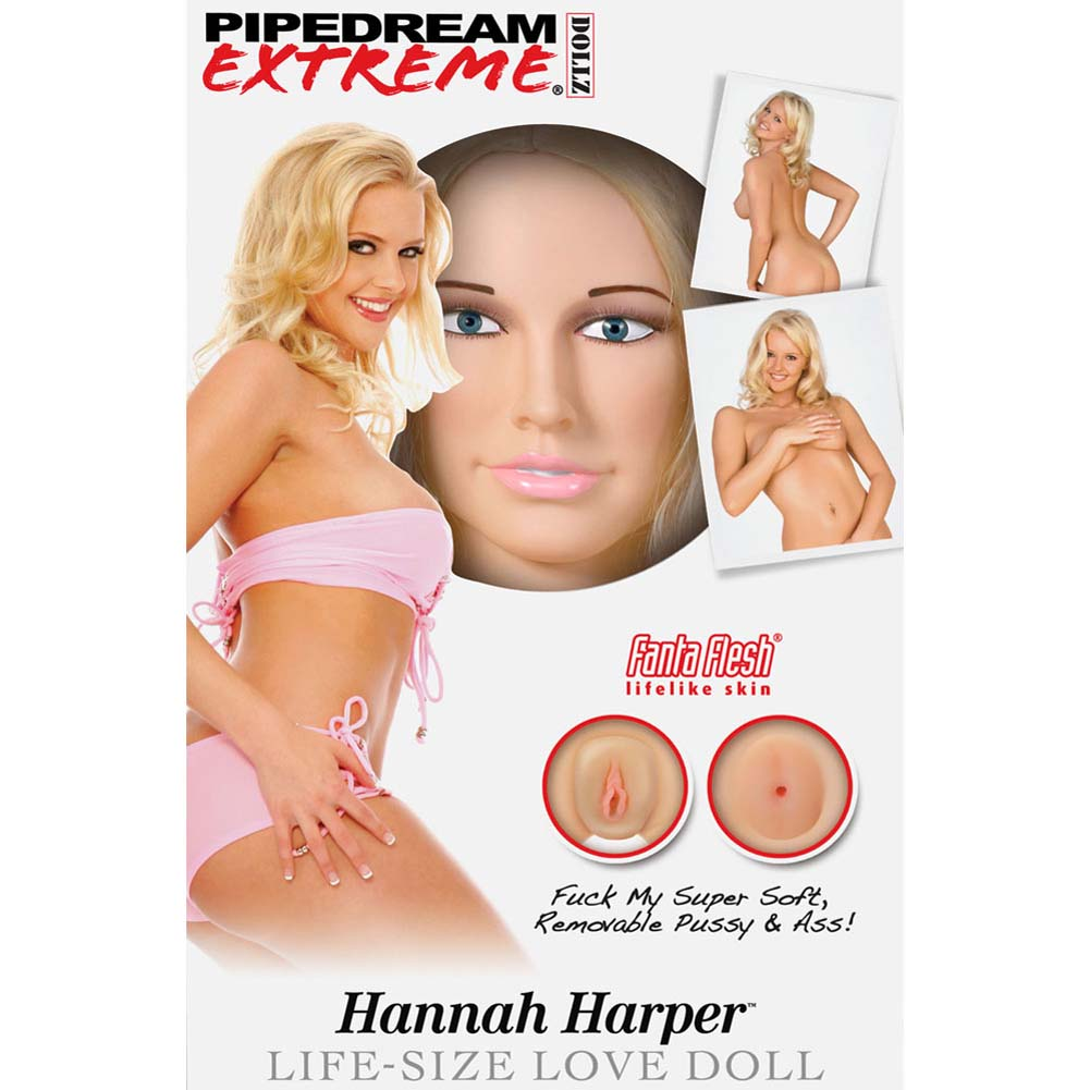 Pipedream Extreme Dollz Hannah Harper Life-Size Love Doll - View #2