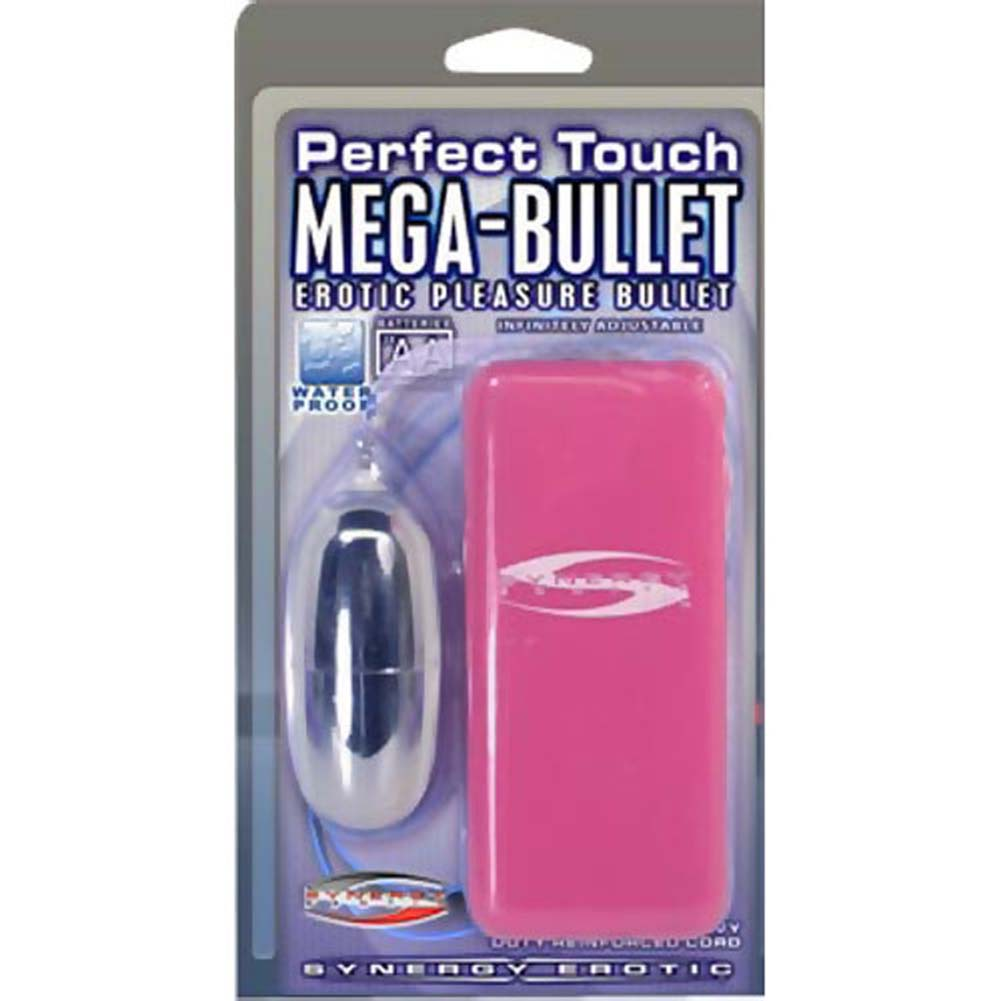 "Synergy Perfect Touch Mega Bullet Vibrator 2.5"" Pink - View #3"