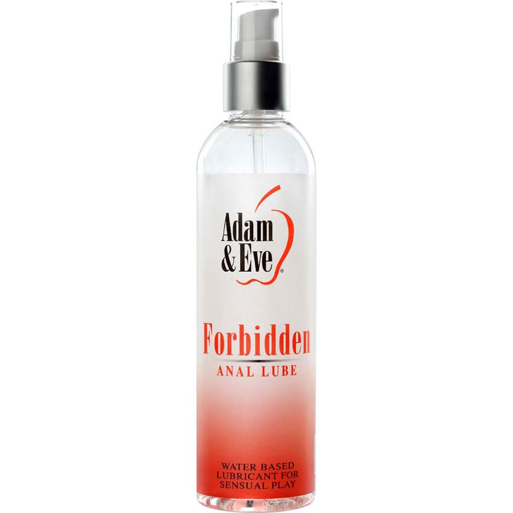 Adam and Eve Forbidden Anal Water Based Lubricant 8 Fl.Oz 240 mL - View #1