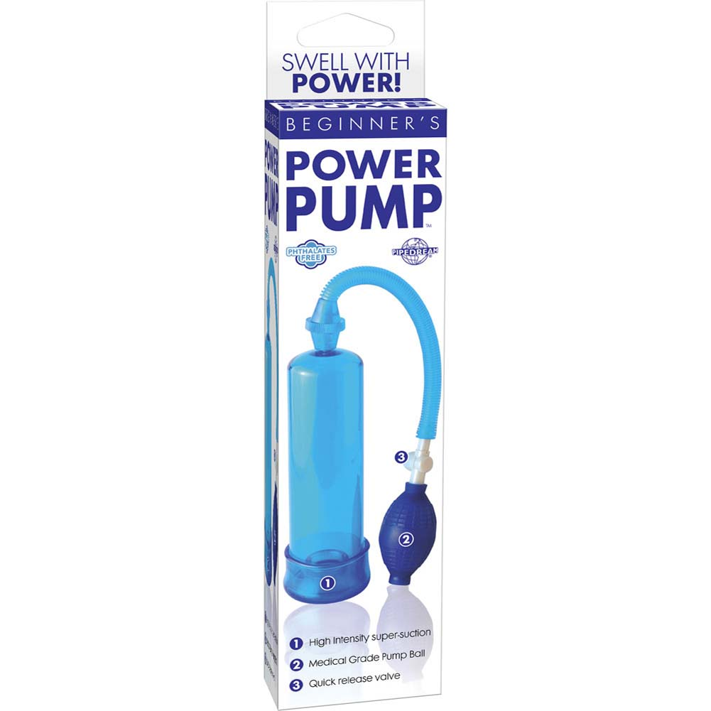 """Beginners Power Pump 7.5"""" by 2.5"""" Blue - View #1"""