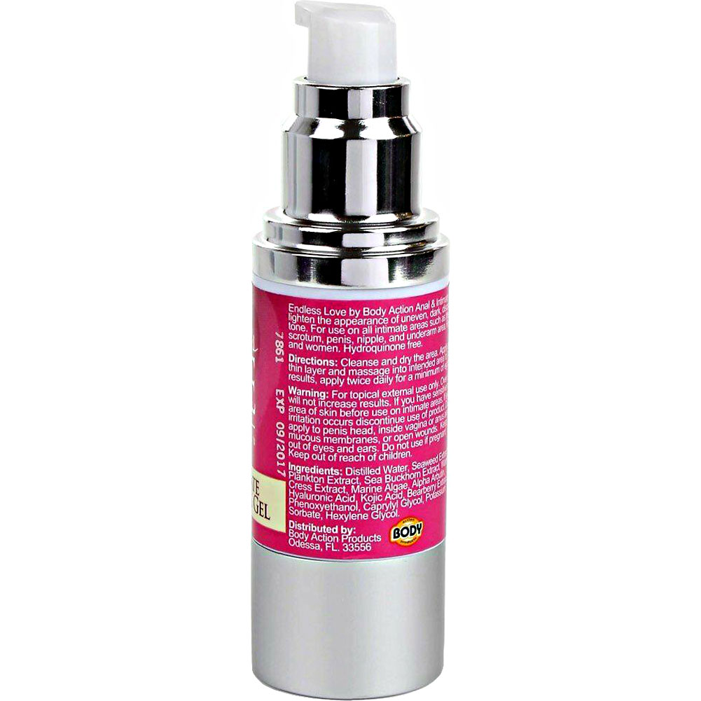 Endless Love for Women Anal and Intimate Area Bleaching Gel by Body Action 1 Fl.Oz 30 mL - View #4