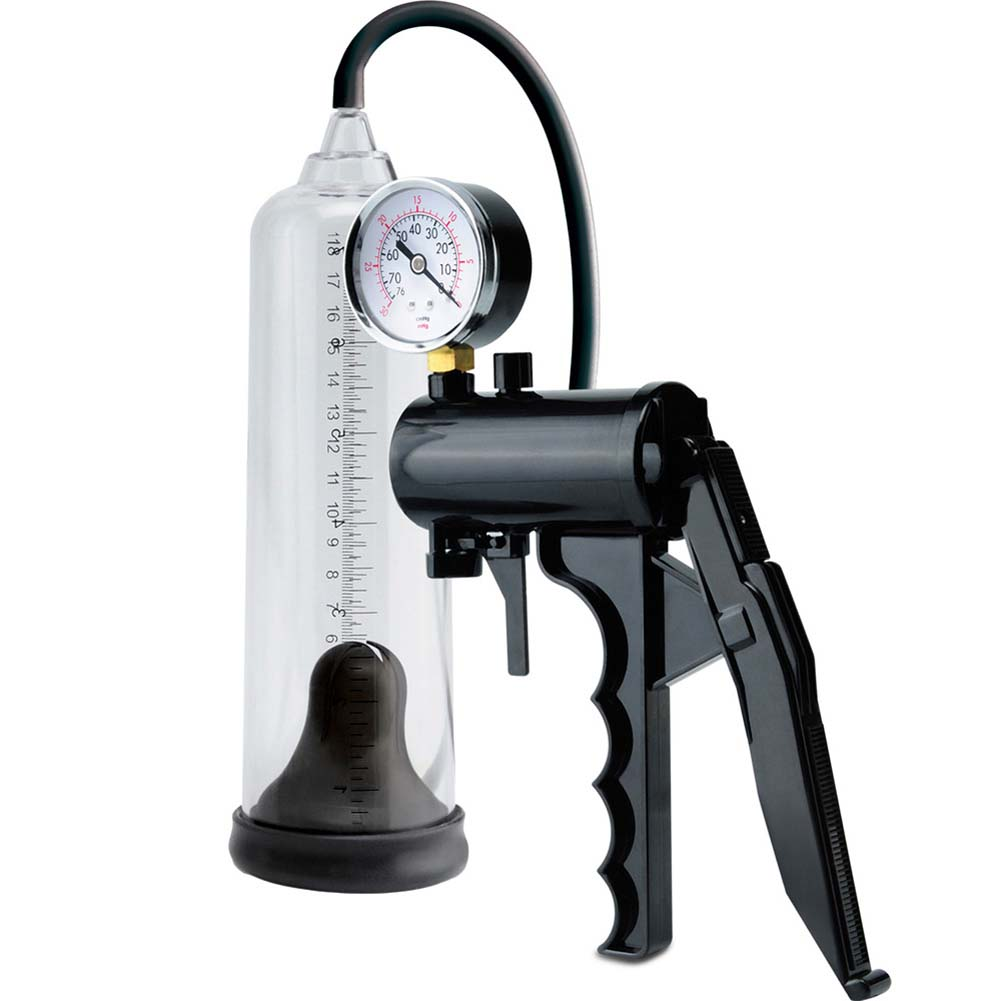 Pump Worx Max Precision Power Penis Pump Black - View #2