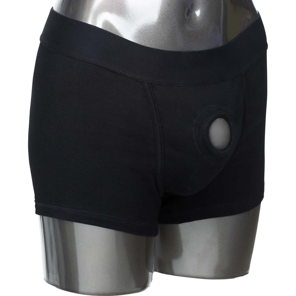 Packer Gear Boxer Brief Harness X-Small/Small Black - View #2
