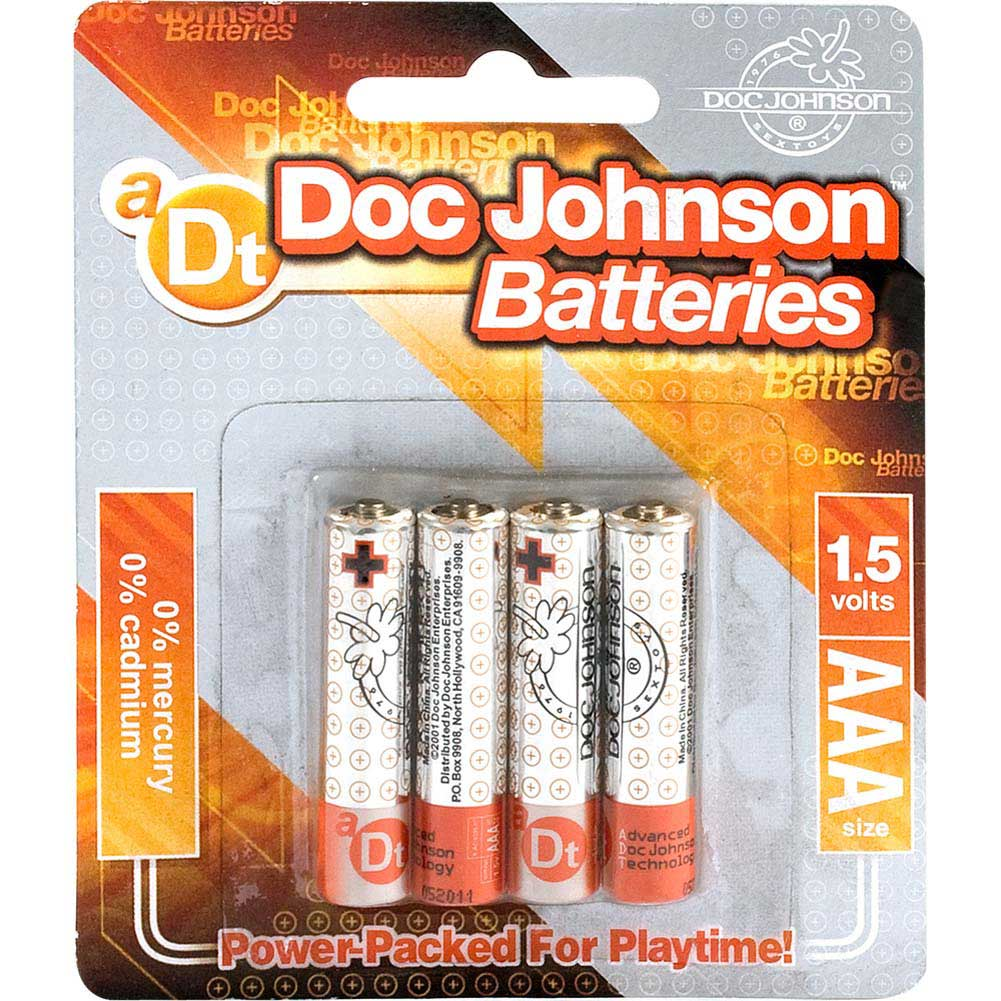 Doc Johnson AAA Batteries 4 Pack - View #2