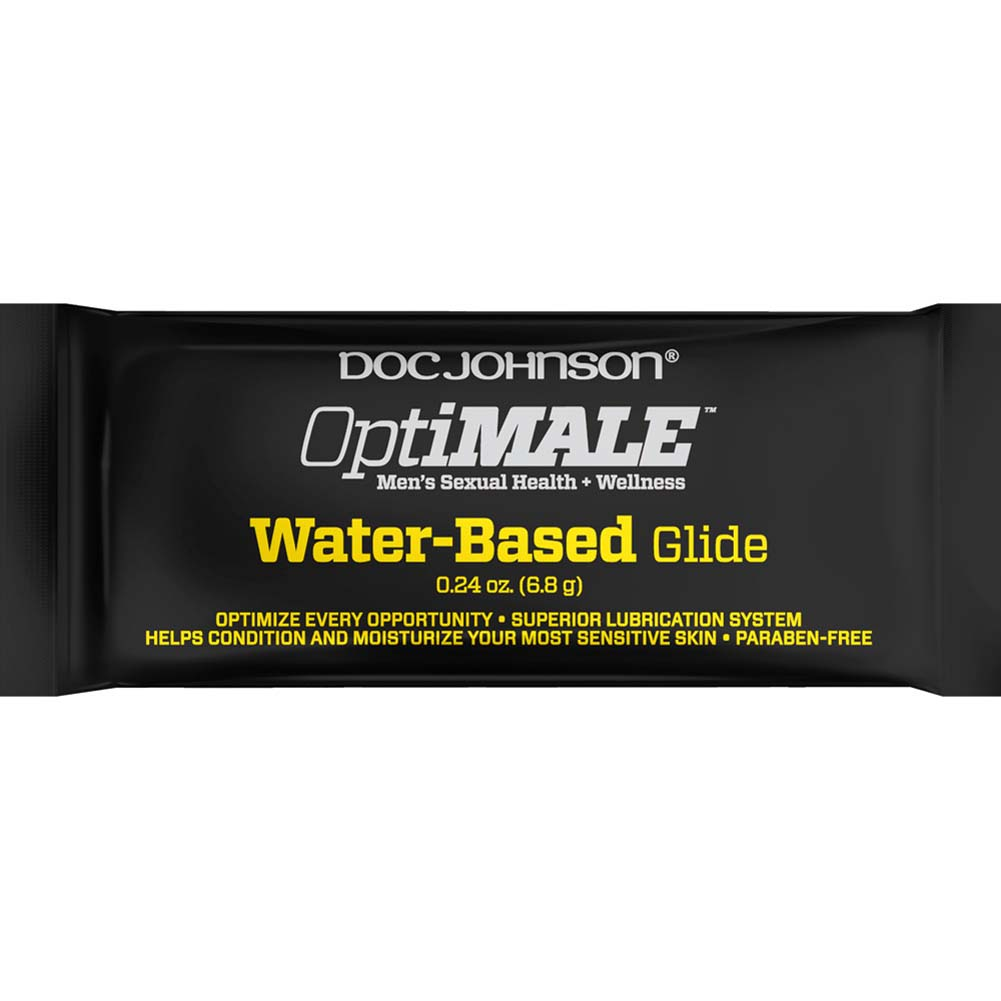 OptiMALE Water-Based Glide 0.24 Oz. Pouch - View #1