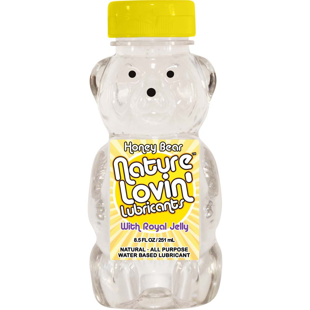 Nature Lovin Honey Bear Personal Lubricant with Royal Jelly 8.5 Fl.Oz 251 mL - View #1