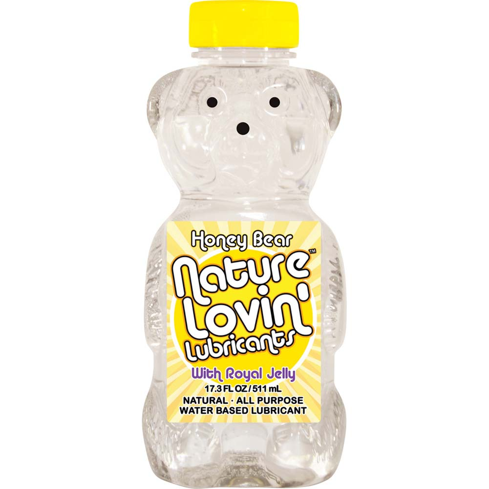 Nature Lovin Honey Bear Personal Lubricant with Royal Jelly 17.3 Fl.Oz 511 mL - View #1