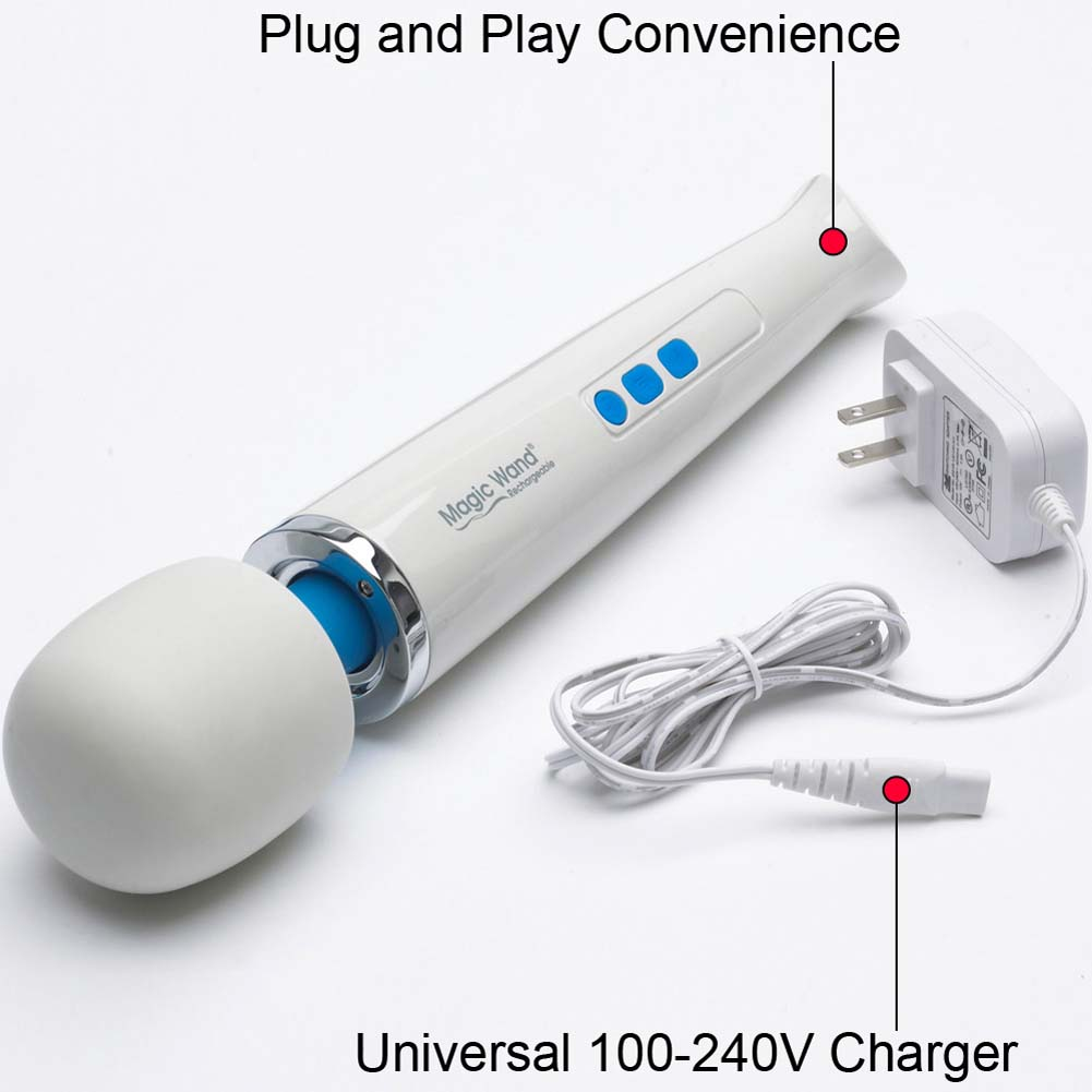 Vibratex Magic Wand Rechargeable Vibrating Intimate Massager HV-270 - View #3