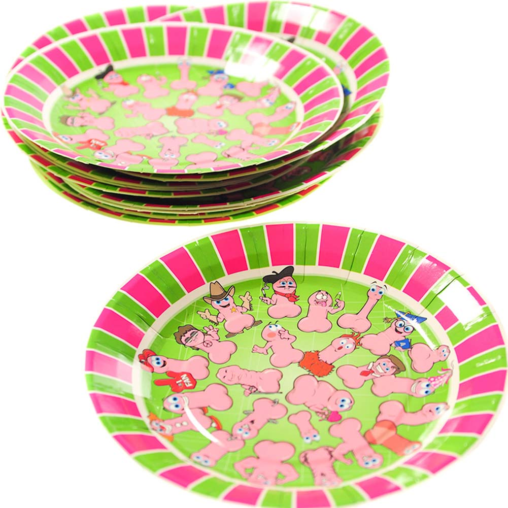 Wild WillyS Party Plates - View #2