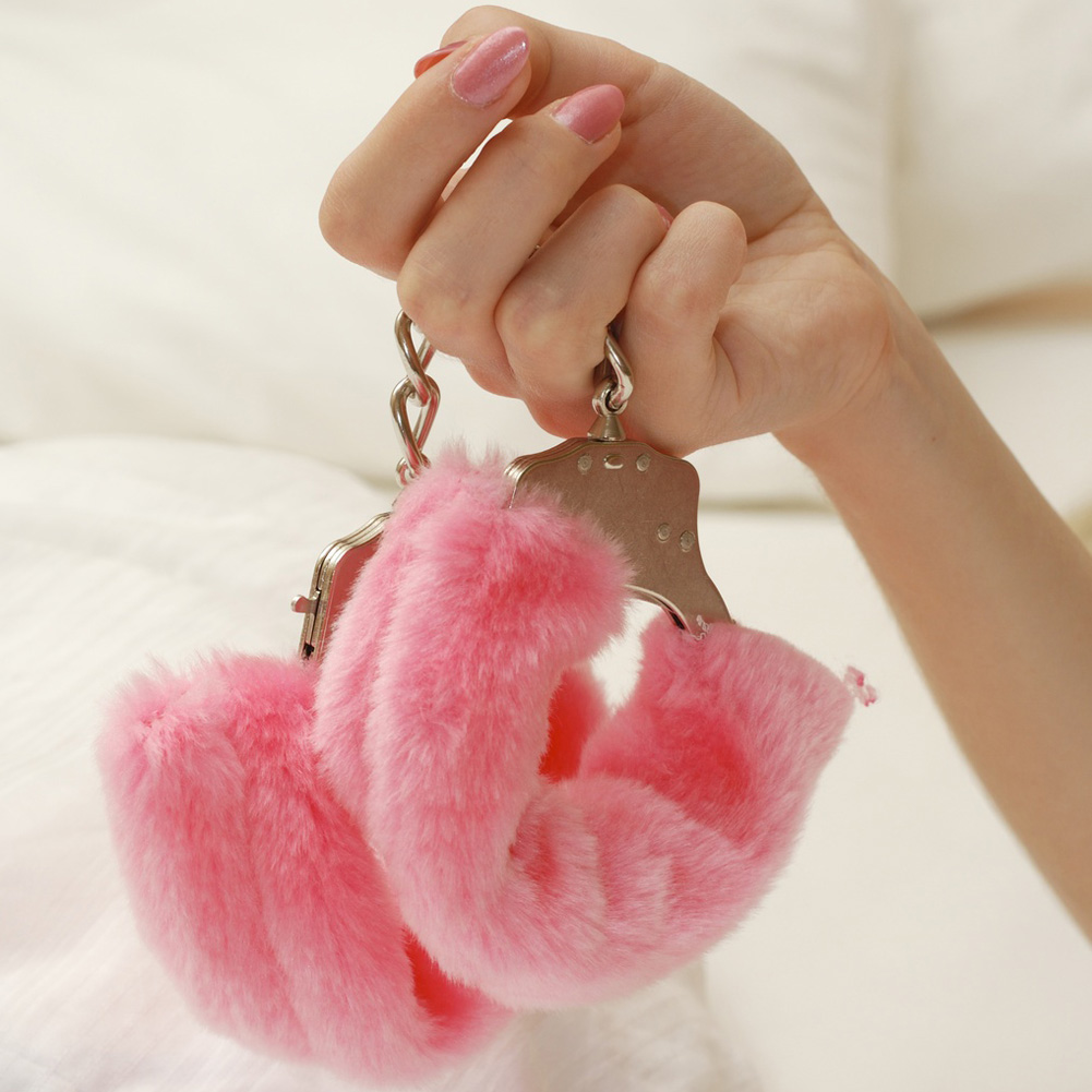 Blush Play with Me Play Time Cuffs Pink - View #3