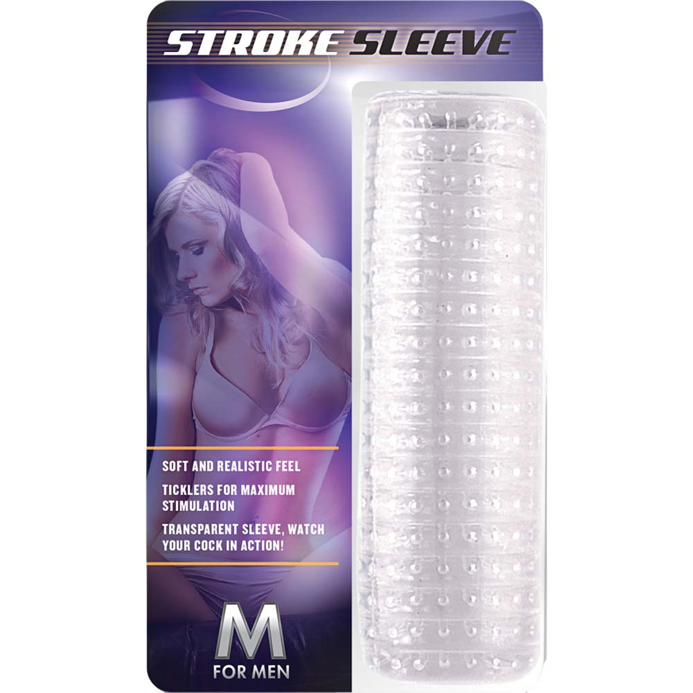 Blush M for Men Stroke Sleeve Clear - View #1