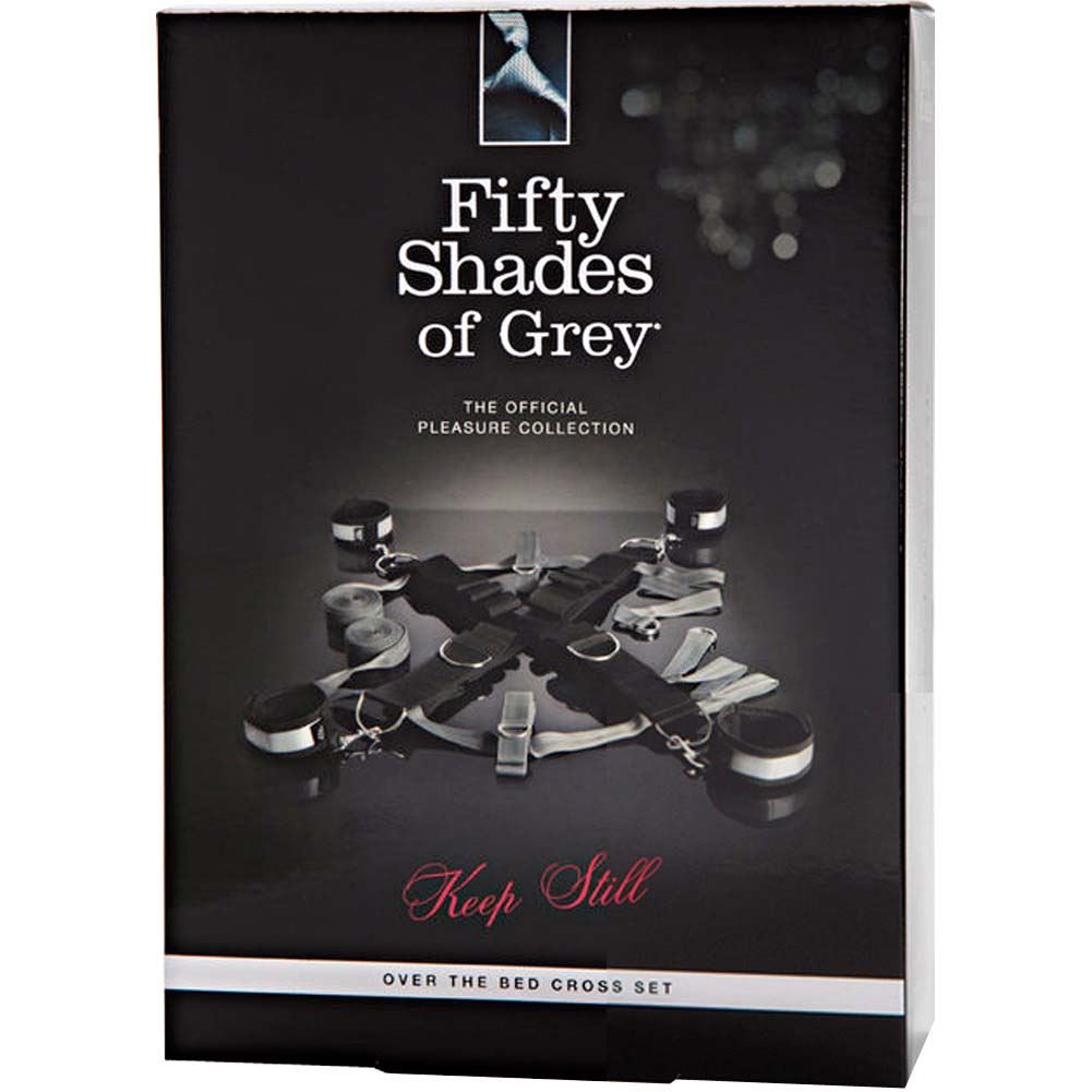 Fifty Shades of Grey Keep Still Over the Bed Cross Set Silver - View #4