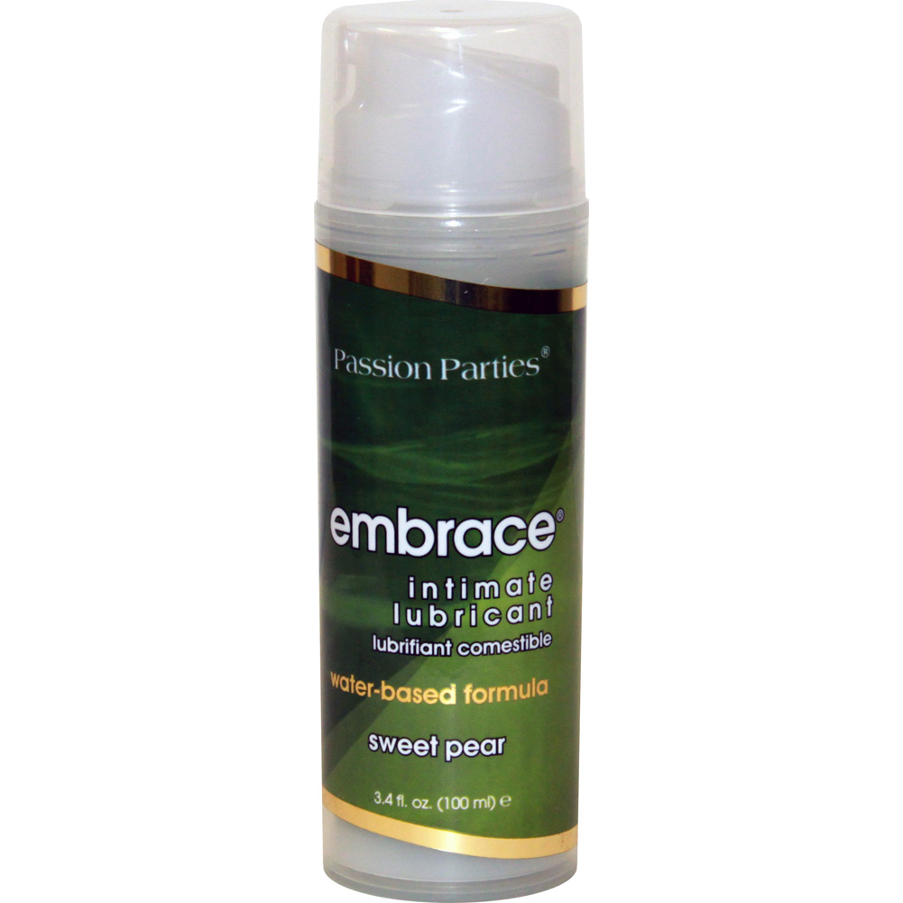 Passion Embrace Intimate Lubricant 3.4 Fl.Oz 100 mL Sweet Pear - View #2