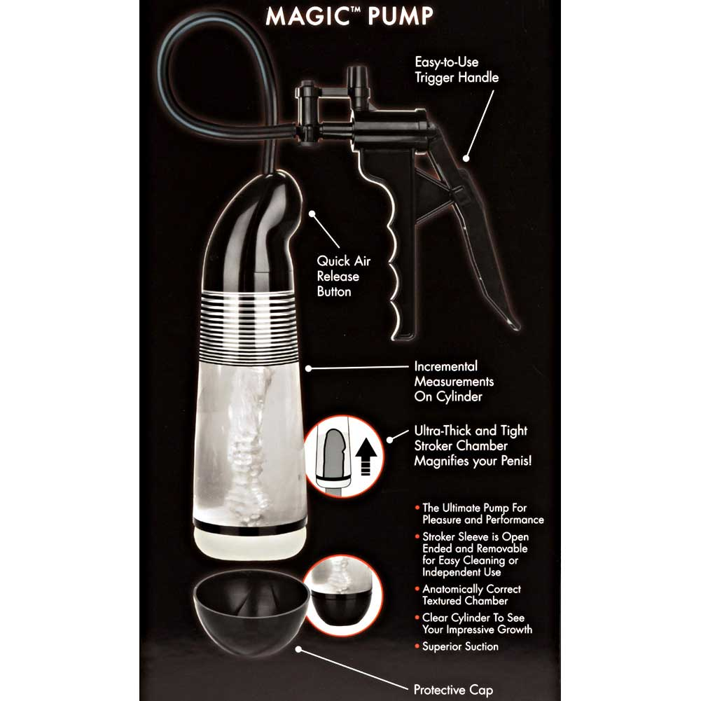 "Optimum Series Magic Pump 6.25"" by 3.25"" Black - View #1"