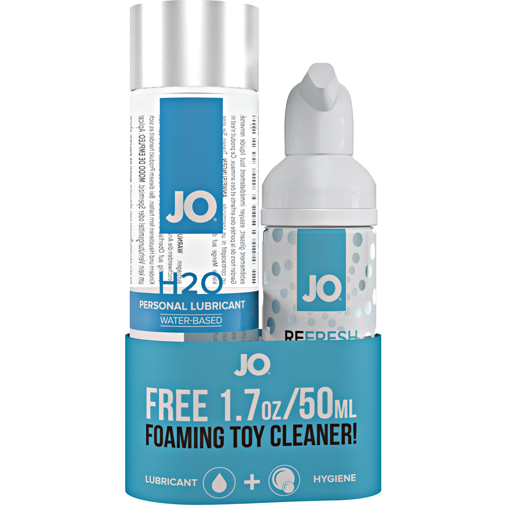 System JO H2O Original Lube and Toy Cleaner Bundle - View #1