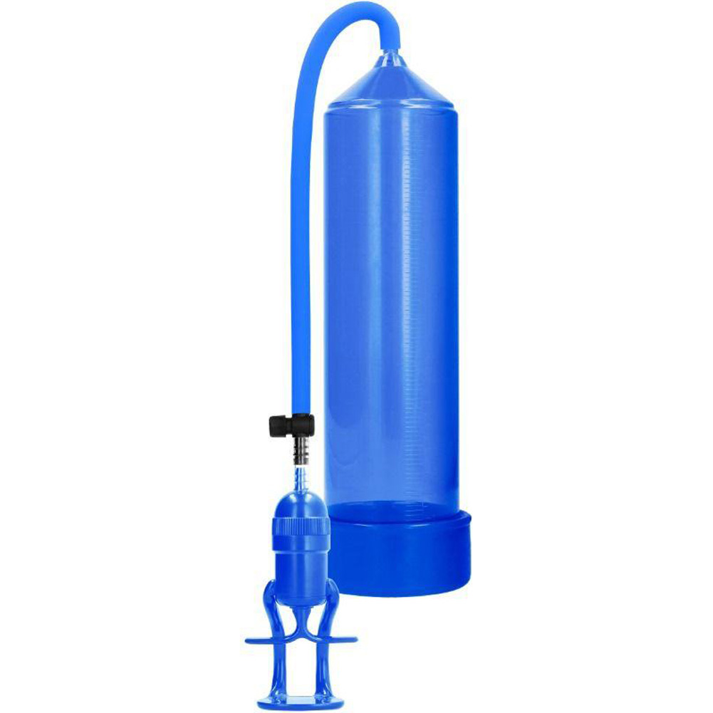 "Pumped Deluxe Beginner Pump 9"" by 2.35"" Blue - View #2"