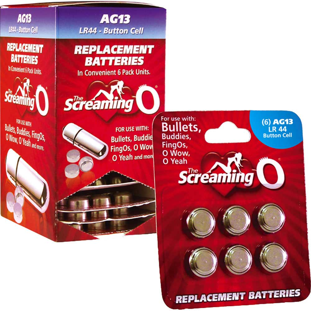 Screaming O AG-13 Batteries 12 Piece Display Box - View #2