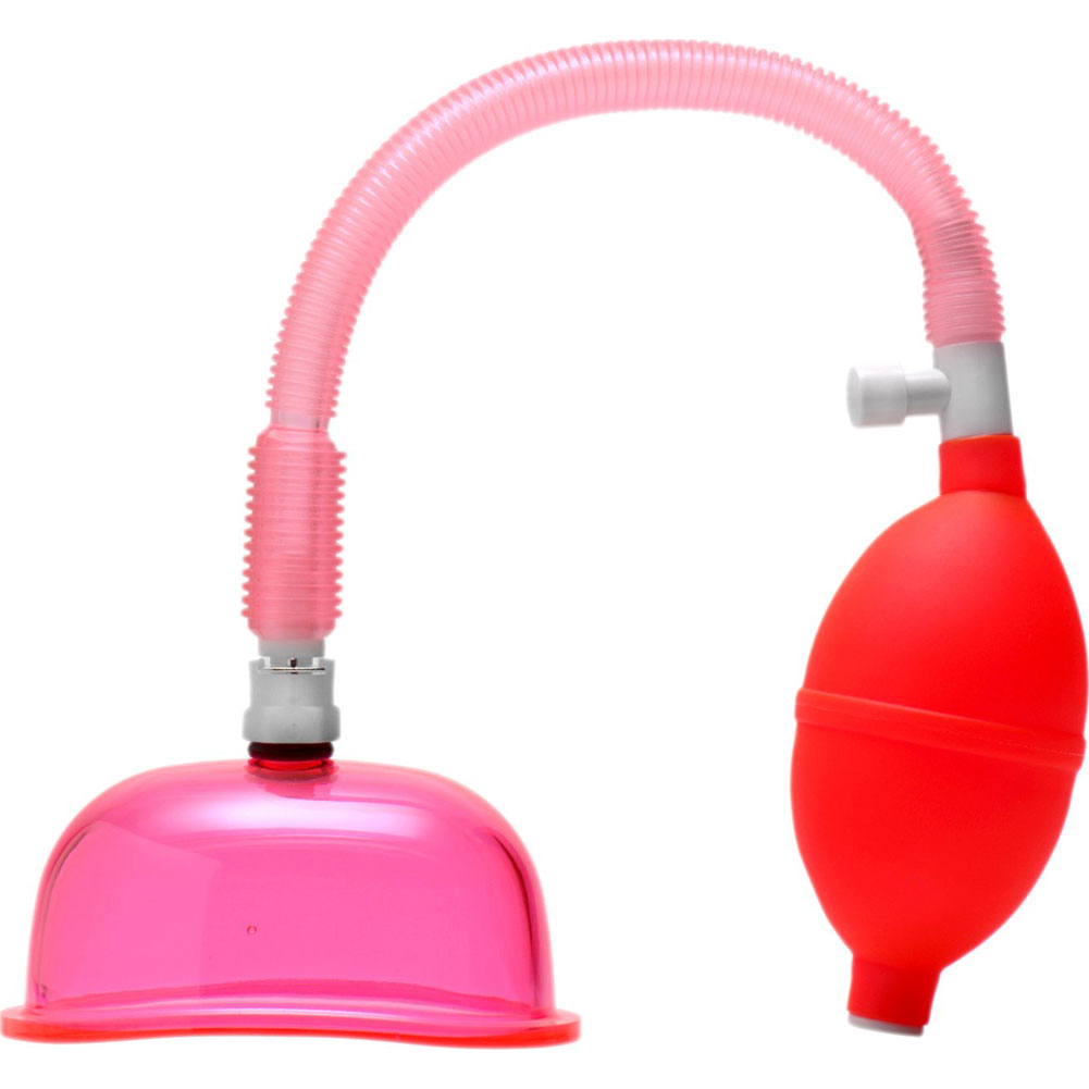 """Size Matters Vaginal Pump with 3.8"""" Small Cup Pink - View #2"""