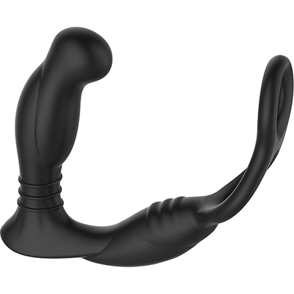 Nexus Simul8 Dual Motor Prostate Cock and Ball Toy Black - View #4