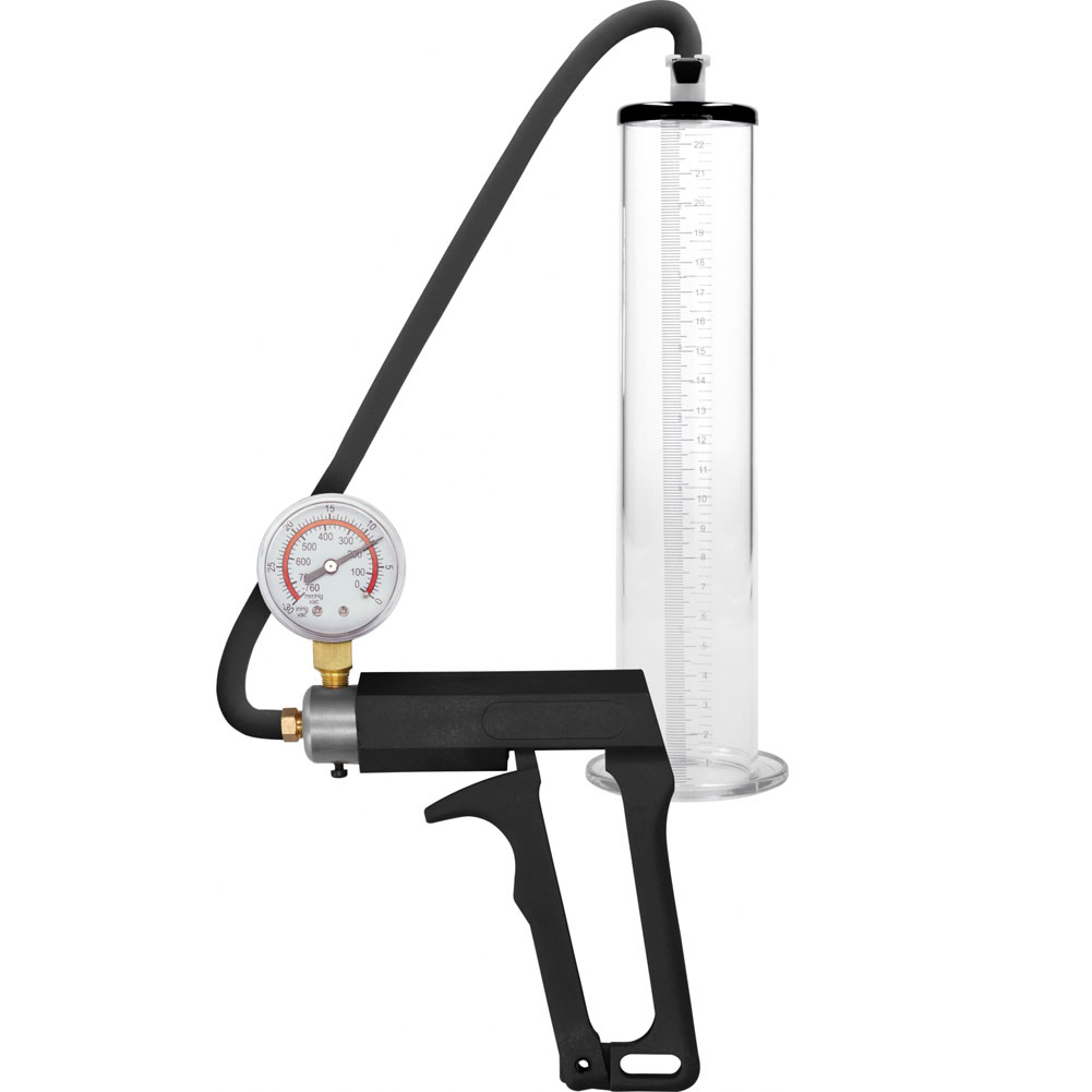 "Pumped Ultra Premium Penis Pump 9"" by 1.7"" Clear - View #2"