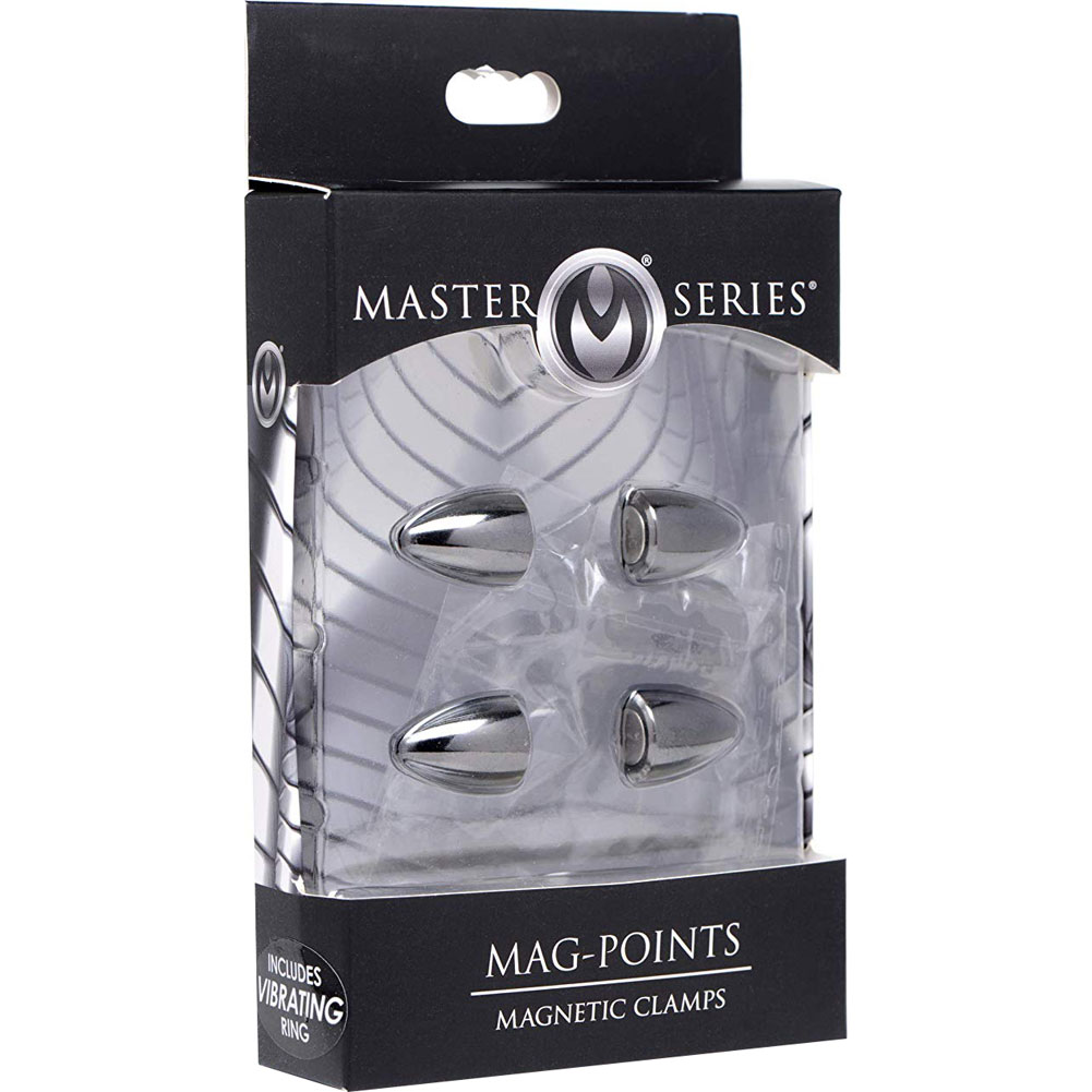 Mag Points Magnetic Nipple Clamp Set Black - View #4