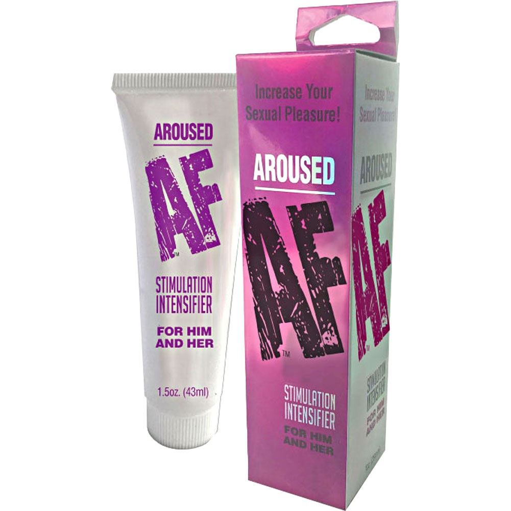 Aroused AF Stimulation Intensifier for Him and Her 1.5 Fl.Oz 43 mL - View #1