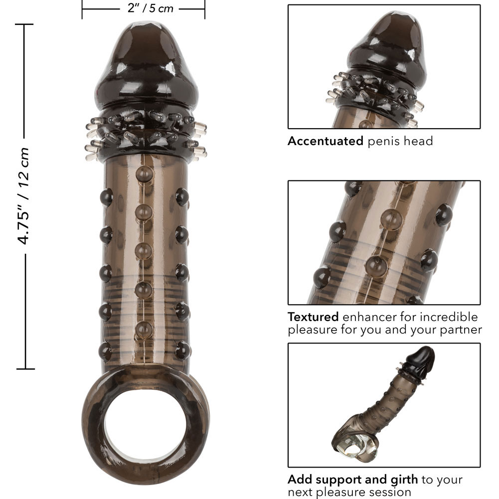 "2"" Extra Length Ultimate Stud Penis Extender 6.25"" Smoke - View #3"