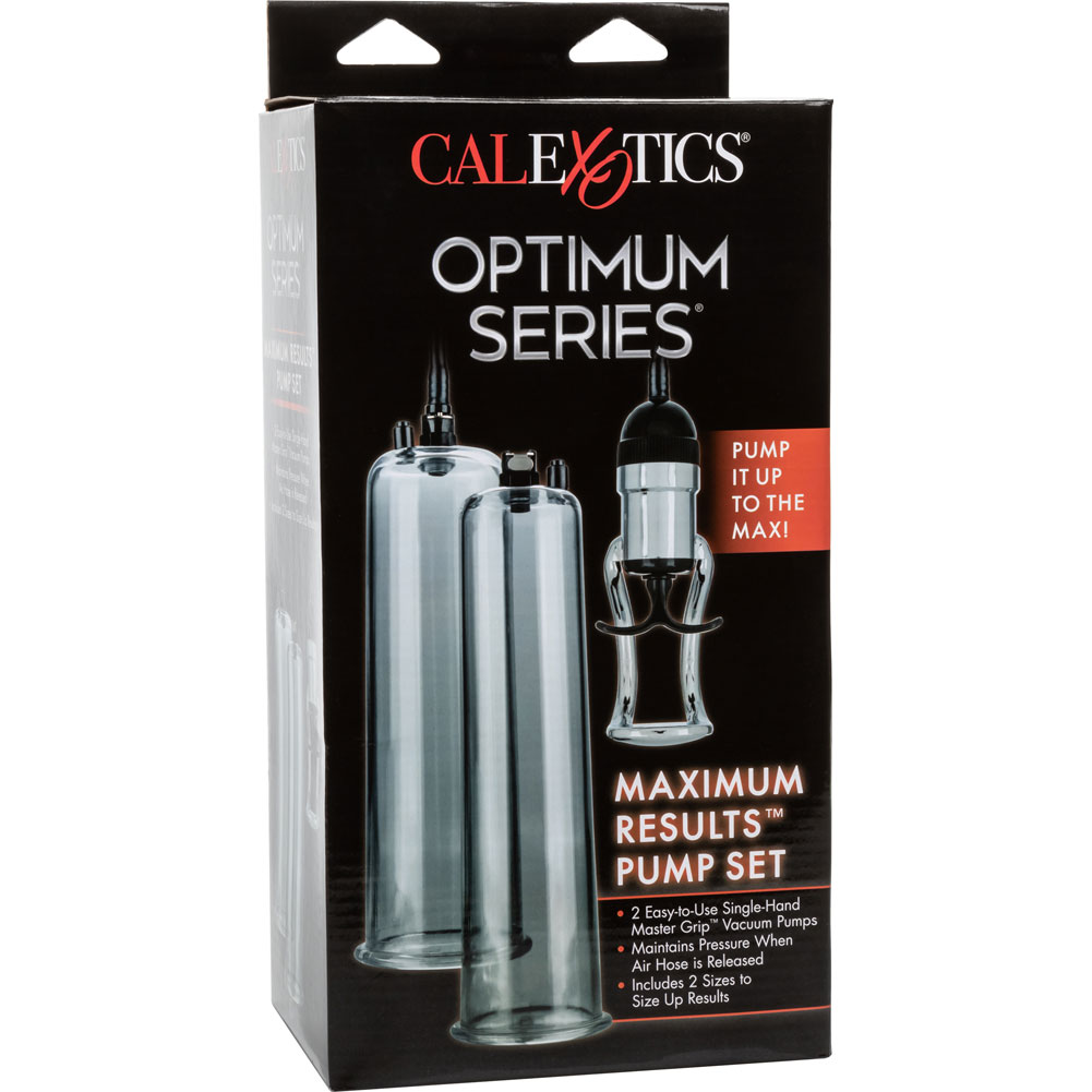 "Optimum Series Maximum Results Pump 9"" by 2.75"" Clear - View #4"