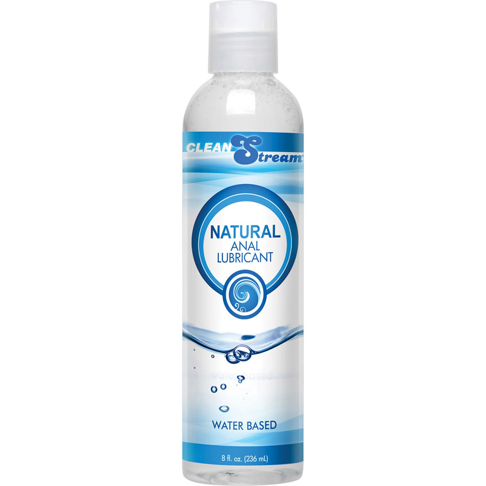 CleanStream Natural Water-Based Anal Lube 8 Fl.Oz 236 mL - View #2
